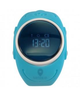 SAFEKID WP300 - Blå GPS Klocka med mobil - Vattentät