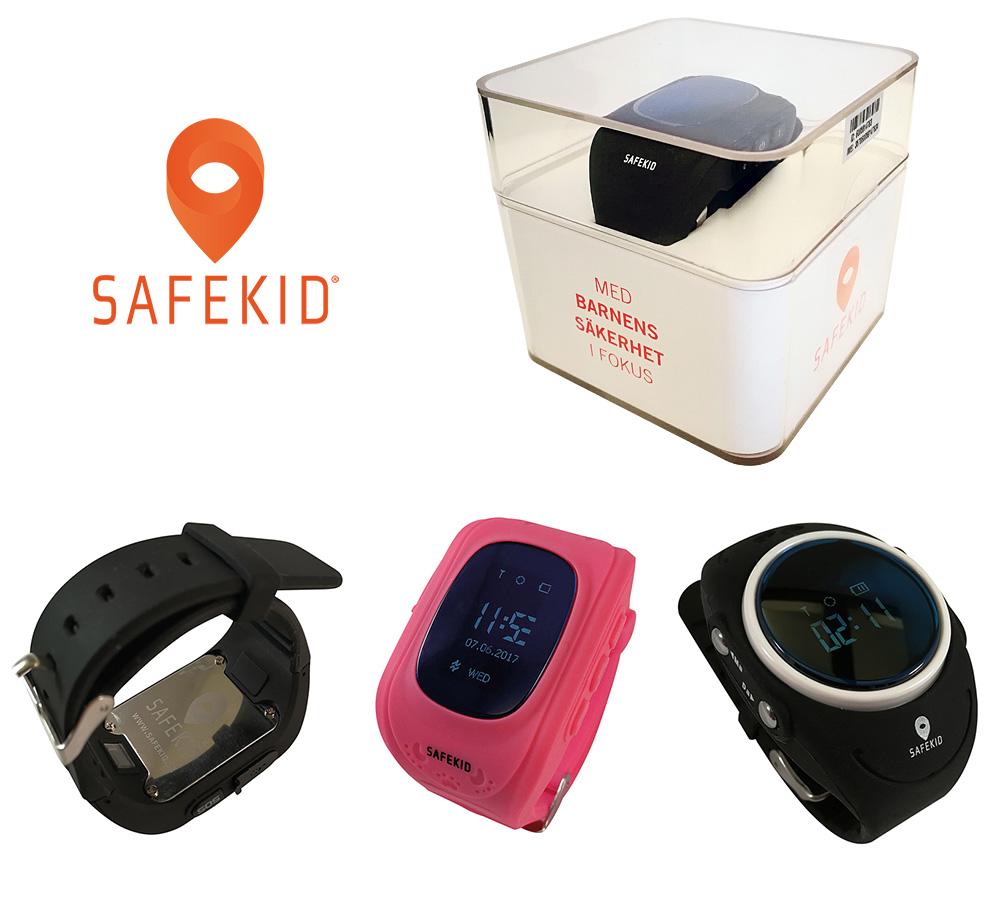 SAFEKID är ett registrerat svenskt varumärke och våra klockor säljs enbart via vår webshop på safekid.se och inte hos andra återförsäljare.