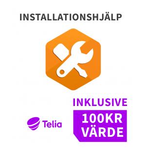 Installationshjälp och 100kr i värde