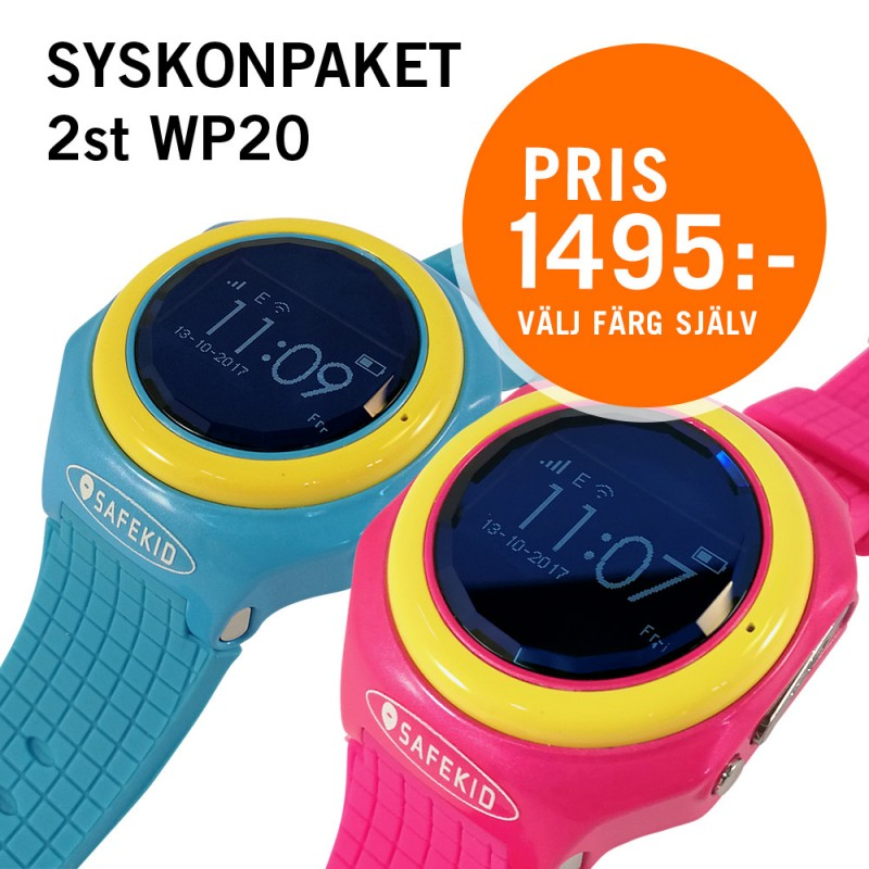 SAFEKID WP20 - Syskonpaket